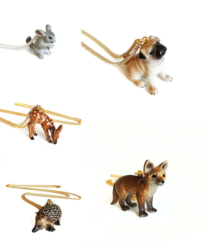 Cheap Frills Animal Necklace