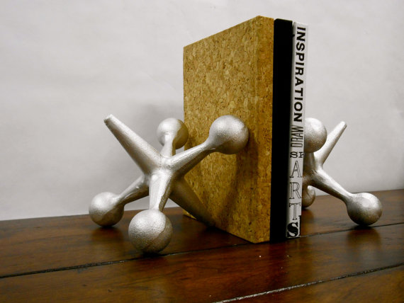 Mid Century Modern Bookends