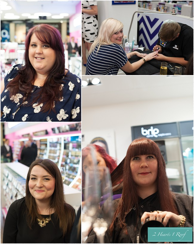 Cardiff Superdrug Beauty Studio Opening Two Hearts One Roof