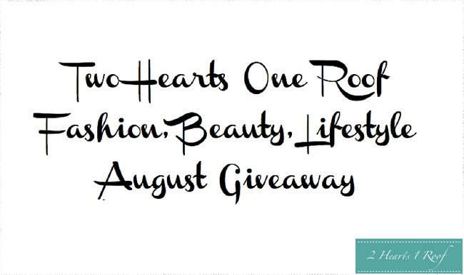 Two Hearts One Roof Giveaway