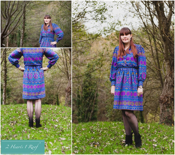 What I Wore – To the South Wales Bloggers Tea Party