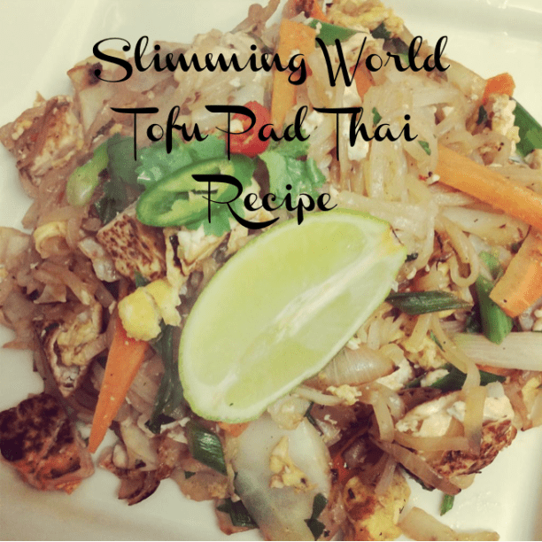 Slimming World Tofu Pad Thai Recipe