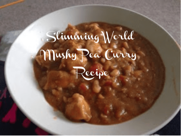 slimming world mushy pea curry recipe