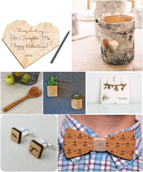 5th wedding anniversary gift ideas - wooden gifts