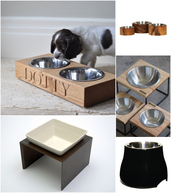 stylish dog bowls