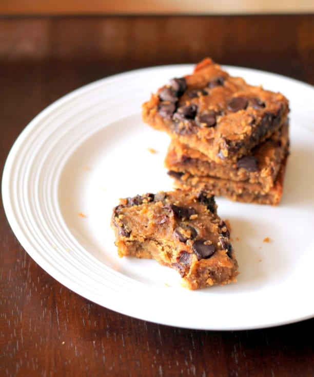 Chickpea Blondies Recipe from Ambitious Kitchen