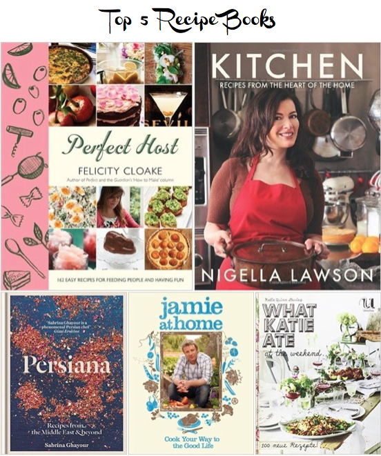 top 5 recipe books