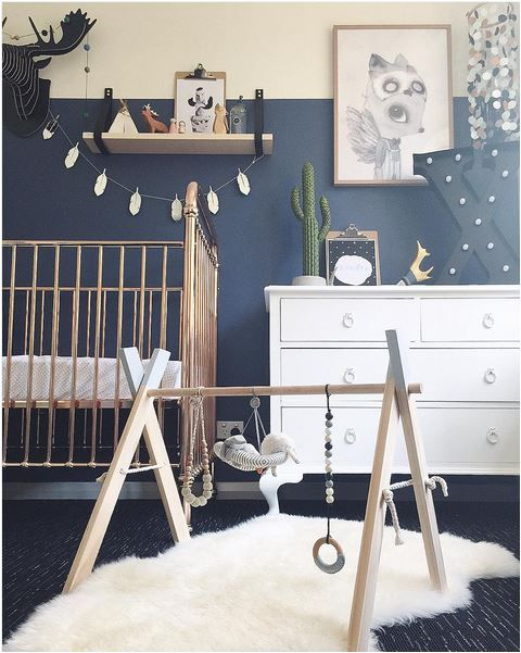 Navy and Grey Nursery Inspiration