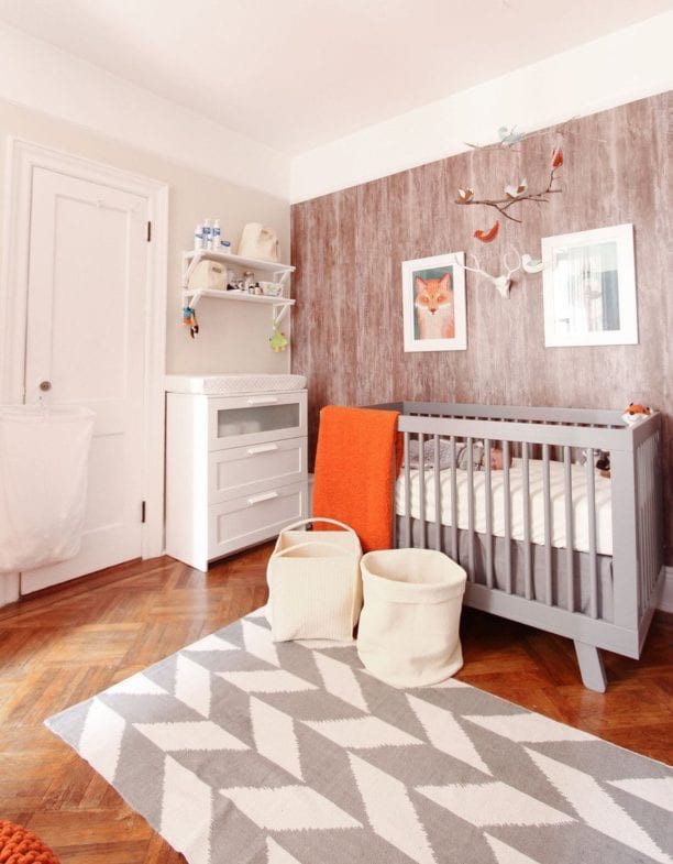 Fox theme nursery ideas