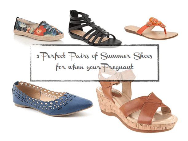 shoes for when your pregnant