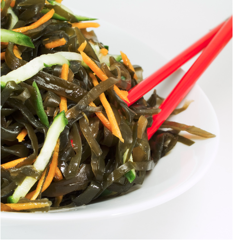 healthy chinese takeaway dishes - seaweed salad