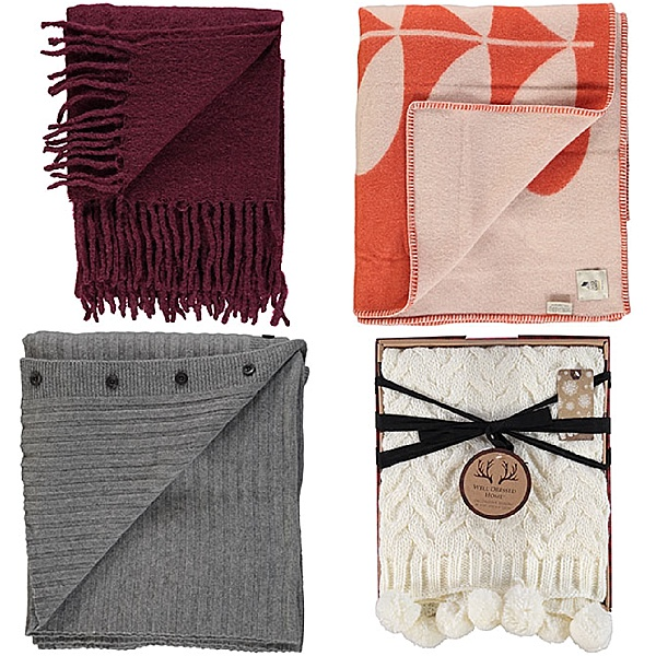 pet friendly homes - blankets and throws