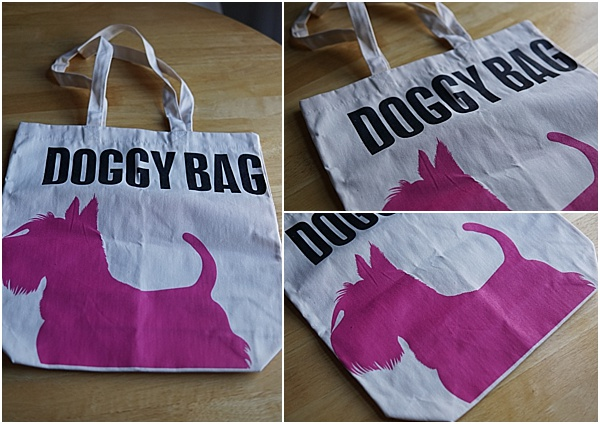 gift ideas for animal lovers - dog tote bag