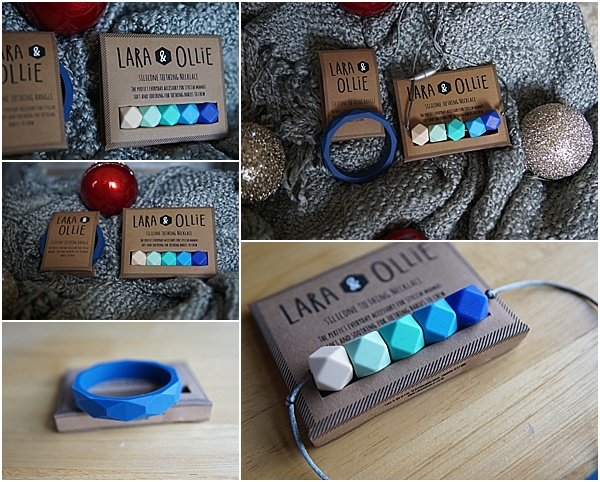 lara and ollie teething jewellery set