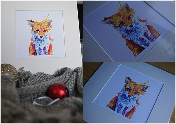 gift ideas for animal lovers - fox print