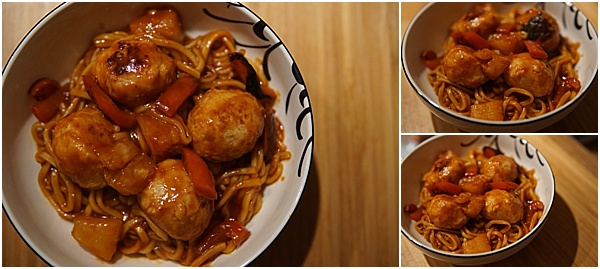 Slimming World Sweet and Sour Chicken Meatball Recipe