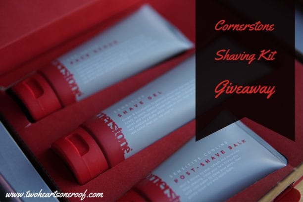 Cornerstone shaving kit giveaway