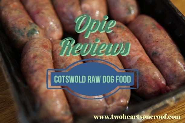 Cotswold RAW dog food review