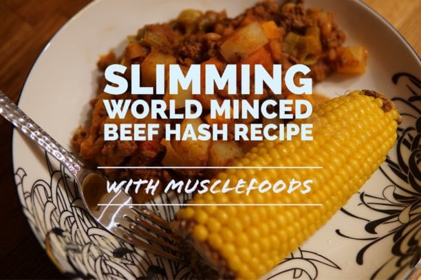 slimming world minced beef hash recipe
