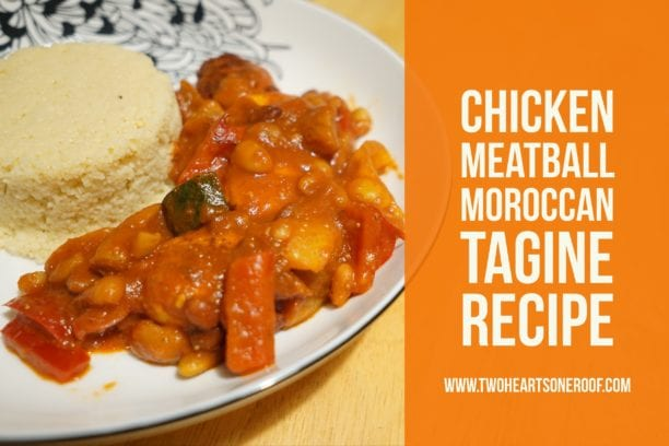 muscle food chicken meatball moroccan tagine