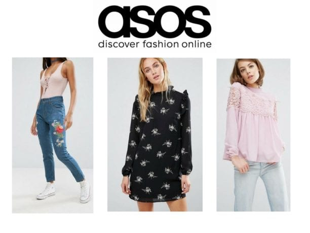 asos top fashion website