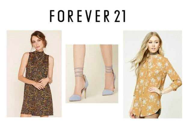 Forever 21 top fashion website