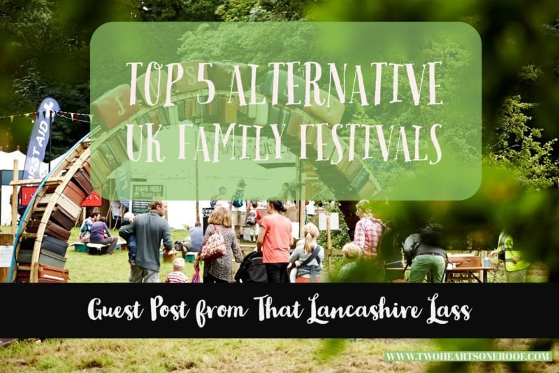 Top5 UK family festivals
