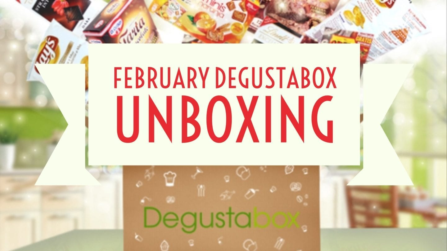 February Degustabox Unboxing and (Brief) Review – Who Knew There Were Candy Crush Sweets!!!
