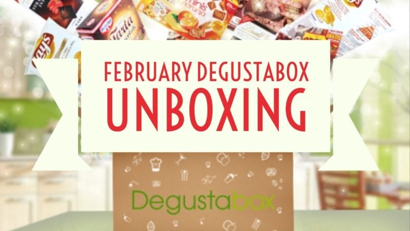 February Degustabox Unboxing and Review