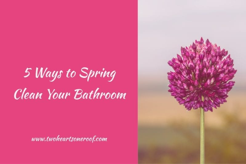Tips to clean your bathroom