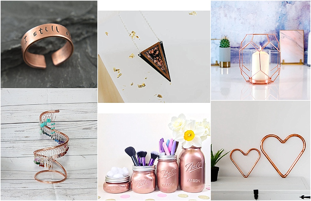 7th wedding anniversary gift ideas - copper gift ideas