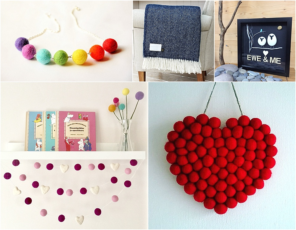 7th wedding anniversary gift ideas - wool gift ideas