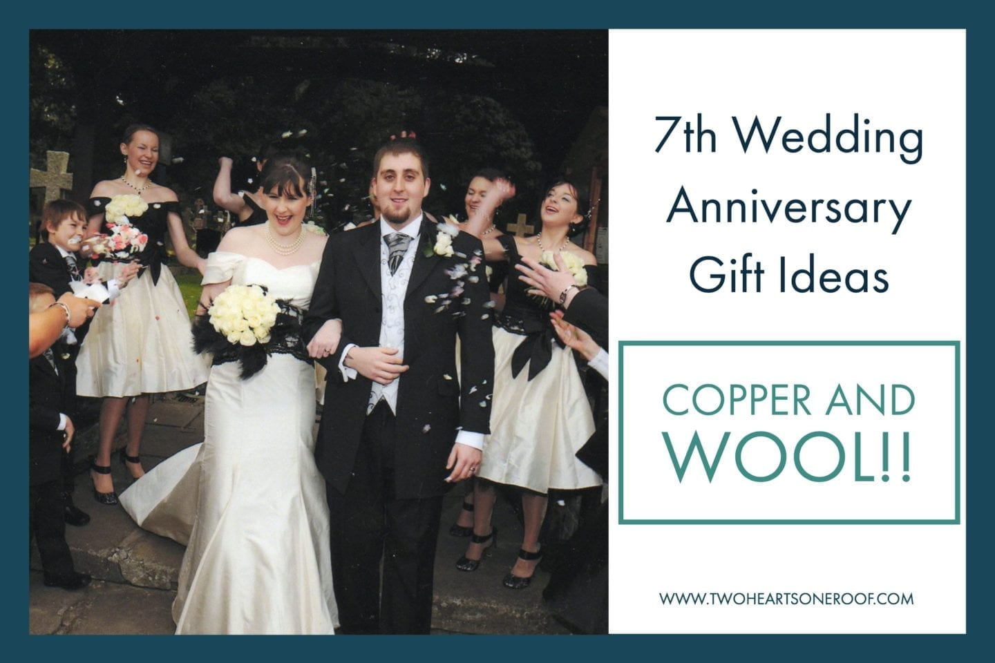 7th Wedding Anniversary Gift Ideas Wool And Copper Gift Ideas