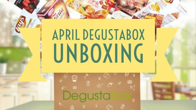 April Degustabox Review and discount code