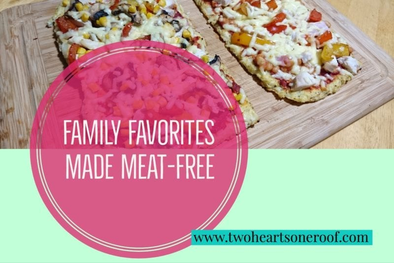 Vegetarian friendly family meals