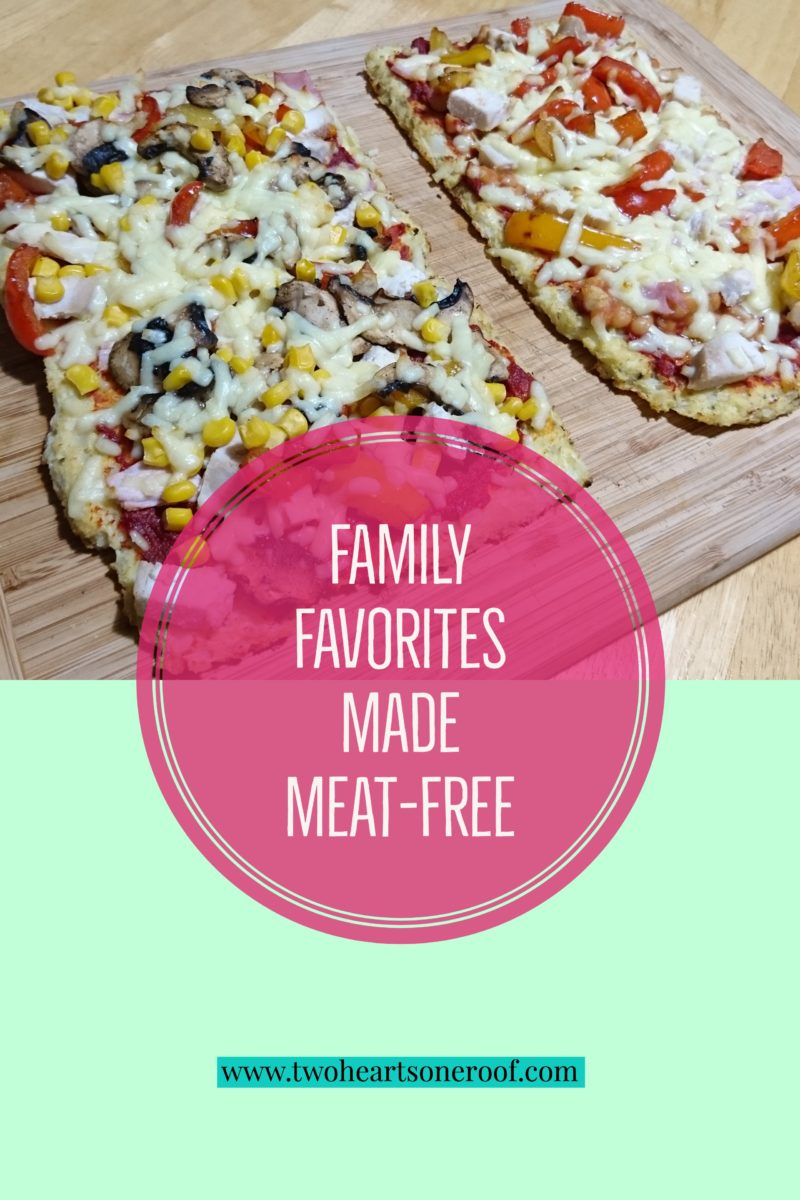 Vegetarian family friendly meals