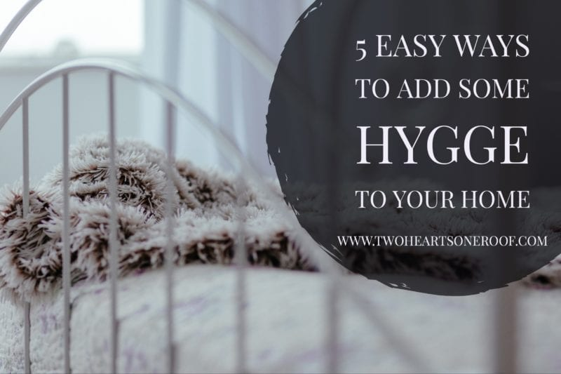 How to add some hygge to your home