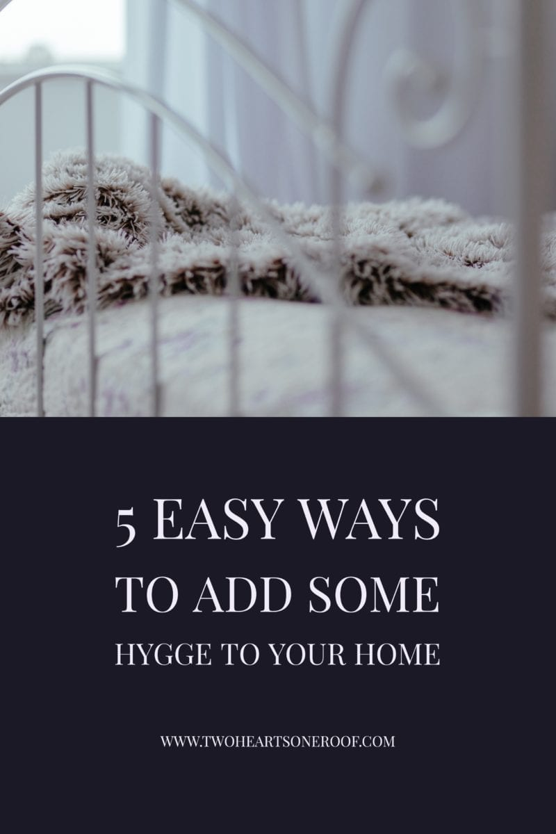 Tips for adding some hygge style to your home