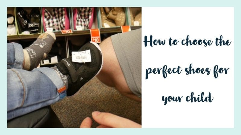 choosing kids shoes