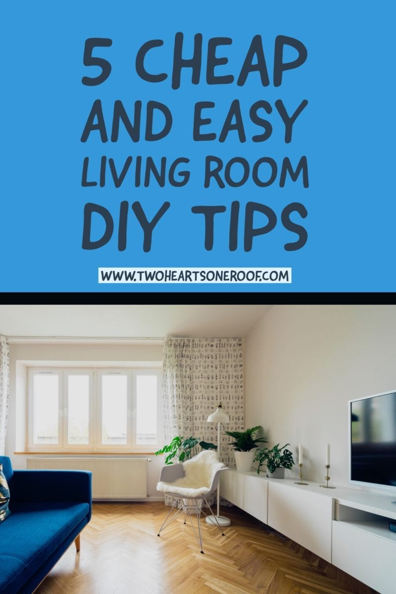 Easy living room diy tips and tricks