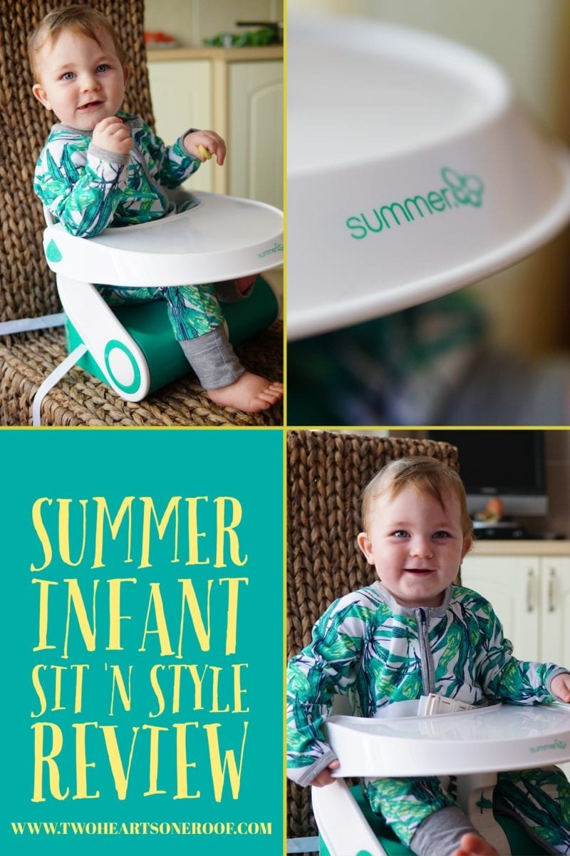 Summer Infant Booster Seat - Summer Infant Sit 'N Style Review