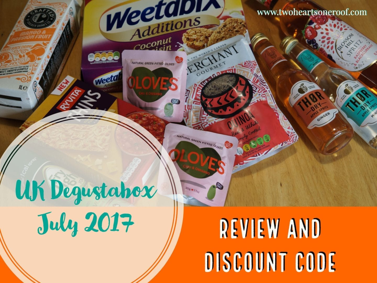 UK Degustabox July 2017 – Review and Discount Code