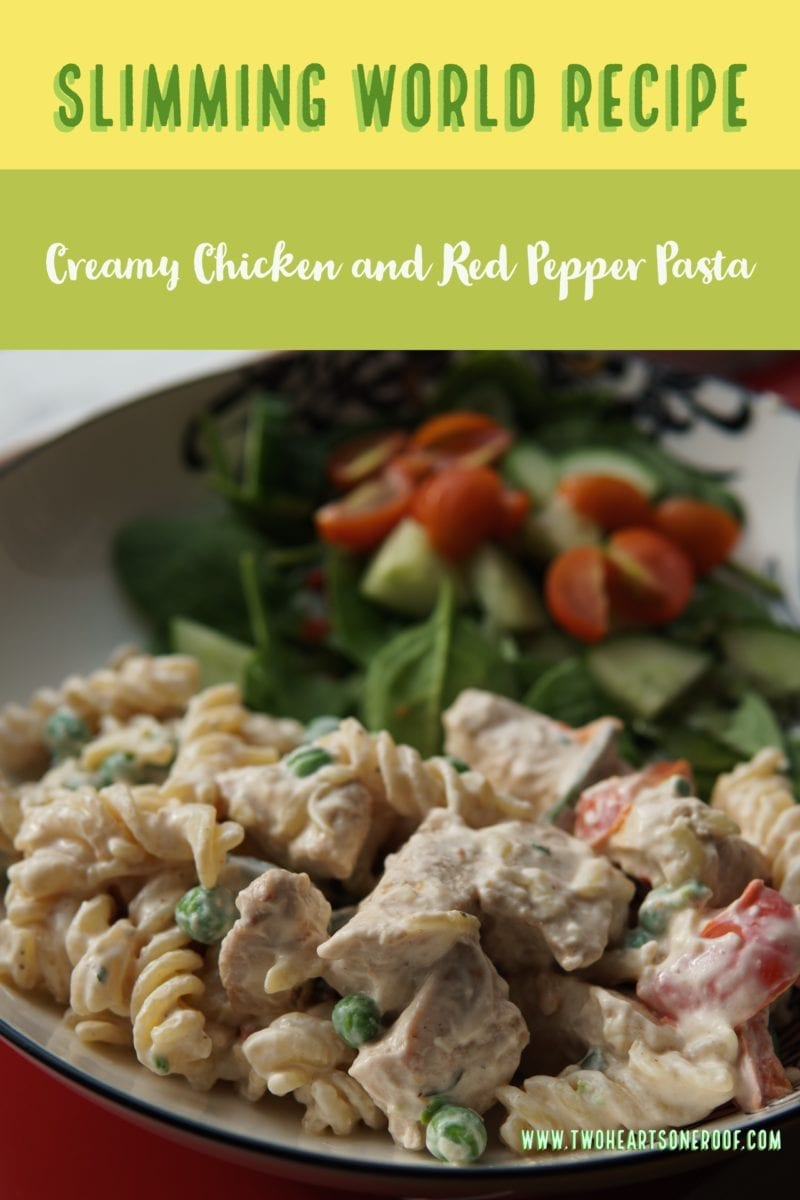 Chicken and pepper pasta slimming world Slimming world recipes for 1 person