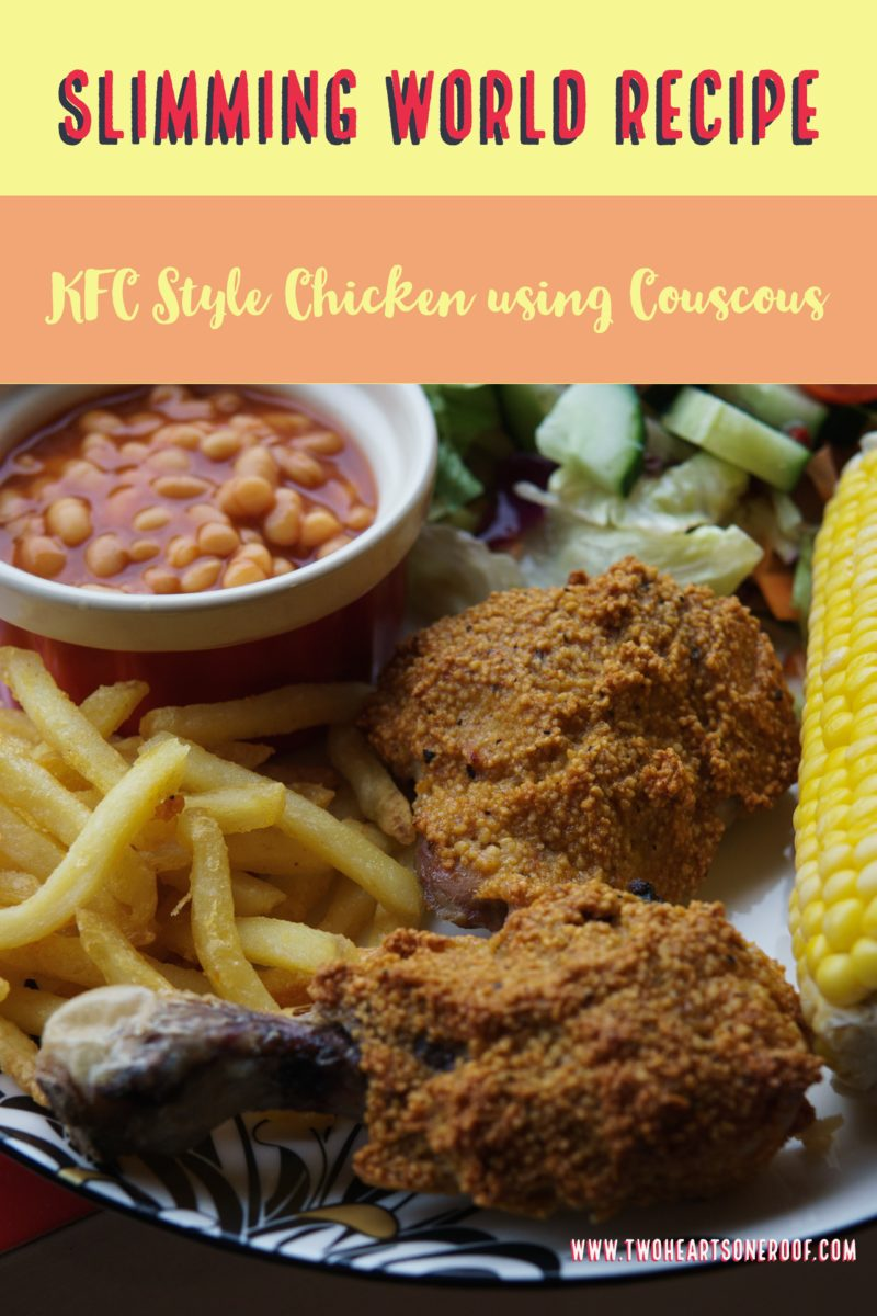 Slimming World KFC style Chicken Recipe using couscous