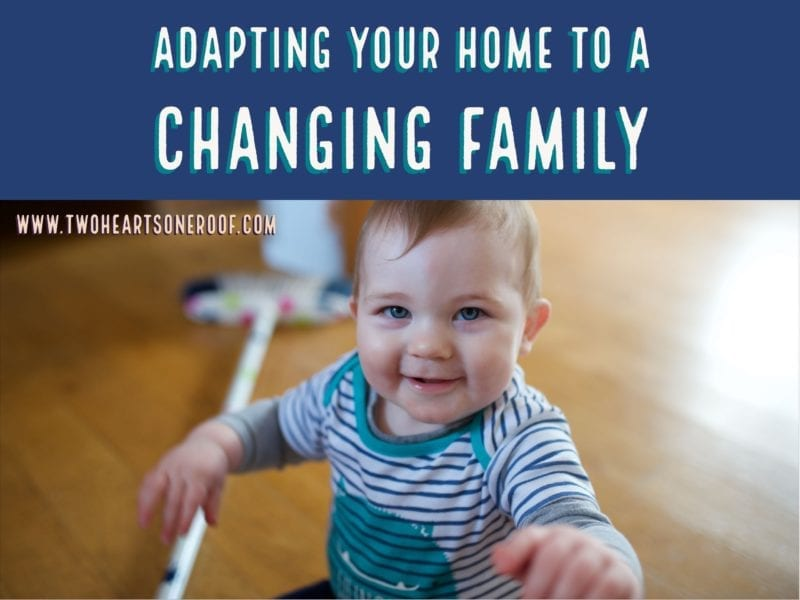 Adapting your home - growing family