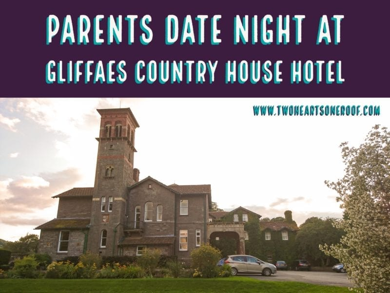 Date night ideas - Gliffaes Country House Hotel