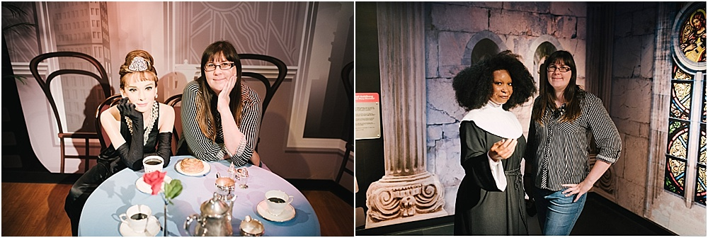places to visit in San Fransisco with kids - madame tussauds fan Fransisco