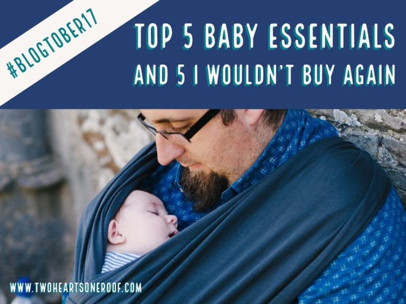 Baby essentials and baby purchase regrets