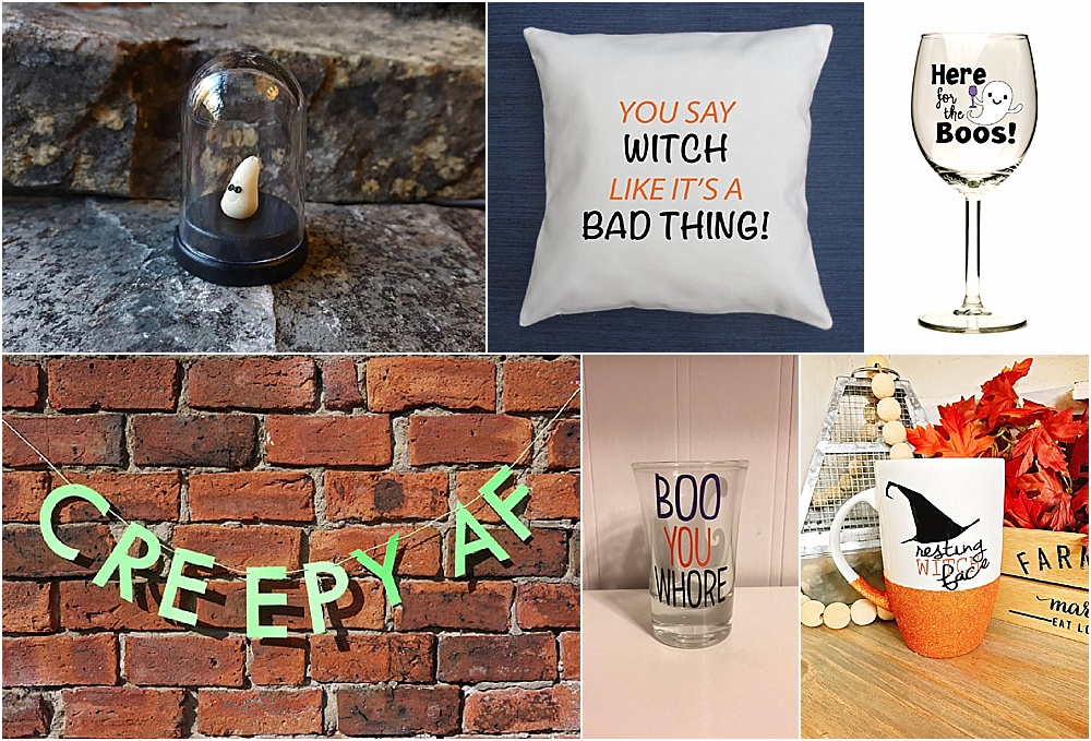 Funny Halloween Clothing and Household Items