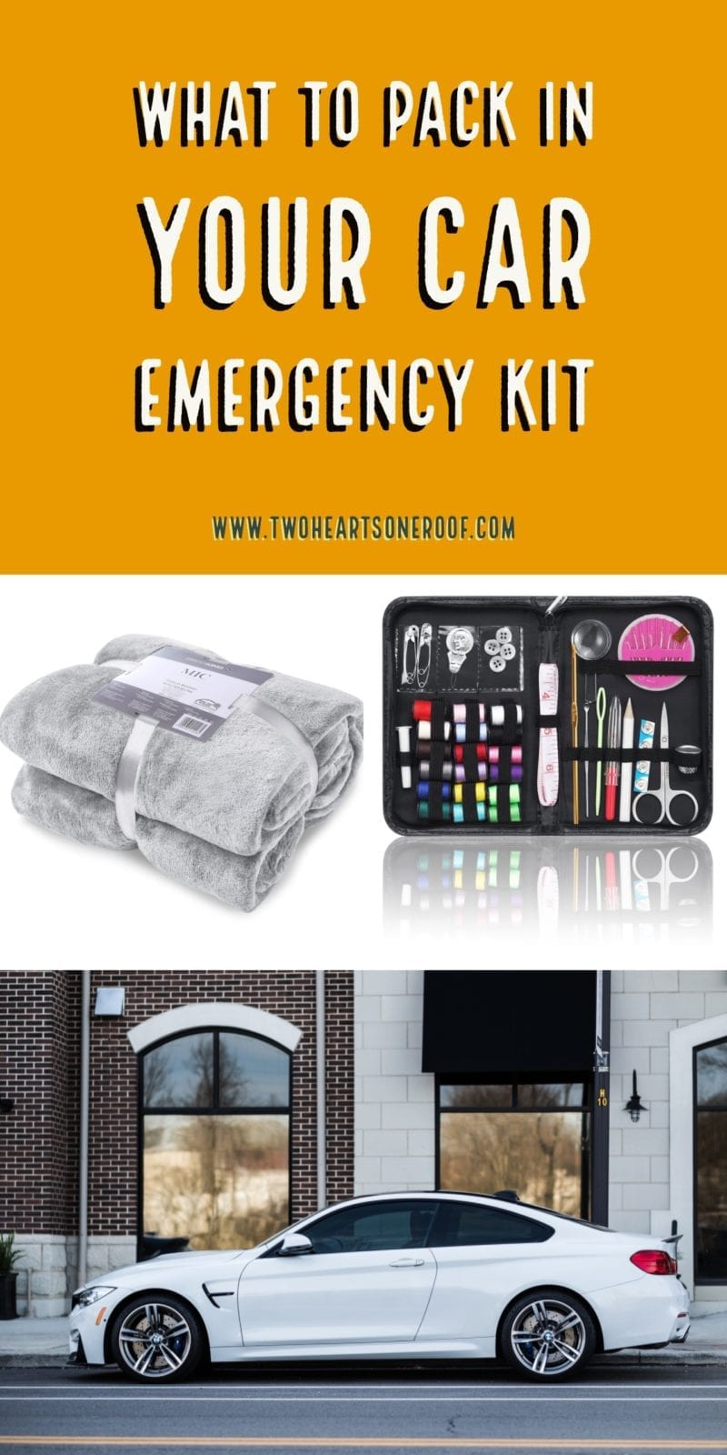 What to Pack in Your Car Emergency Kit